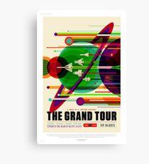 The Grand Tour - NASA/JPL Travel Poster Canvas Print