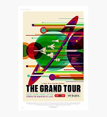Le Grand Tour - Affiche de voyage NASA / JPL Impression photo