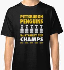 Pittsburgh Penguins 5x Champs Classic T-Shirt