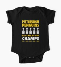Pittsburgh Penguins 5x Champs Kids Clothes