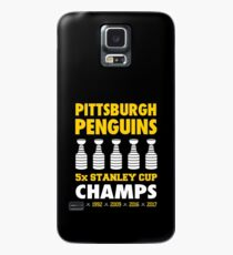 Pittsburgh Penguins 5x Champs Case/Skin for Samsung Galaxy