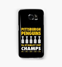 Pittsburgh Penguins 5x Champs Samsung Galaxy Case/Skin