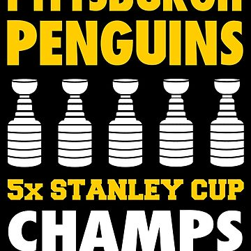 Pittsburgh Penguins 5x Champs by ElliottCole