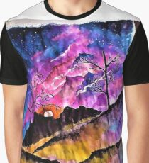 """Tuscany sunset"" Graphic T-Shirt"