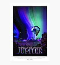Jupiter - NASA/JPL Travel Poster Photographic Print