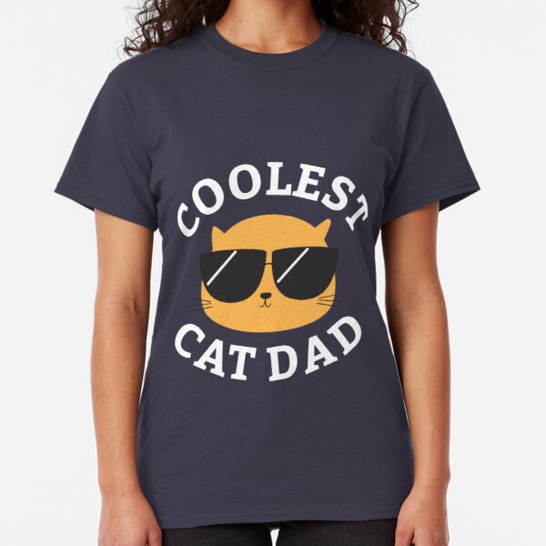Coolest Cat Dad Classic T-Shirt