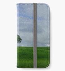 A Tree in a Field iPhone Wallet/Case/Skin