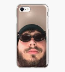 Post Malone going ghost hunting iPhone Case/Skin