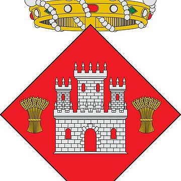 Coat of Arms of Palafrugell by Tonbbo