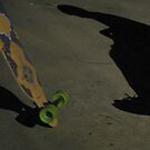 Skateboarding Sorrows by kaylarenee