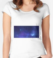 X-ray of the Milky Way Women's Fitted Scoop T-Shirt