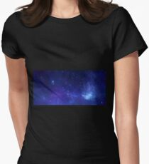 X-ray of the Milky Way Womens Fitted T-Shirt