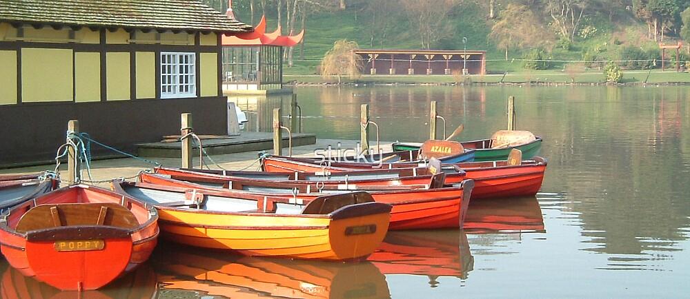 Boats by sticky