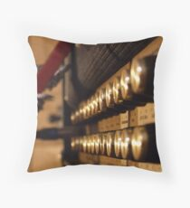 Volume Over Talent Throw Pillow