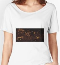 The Milky Way by Hubble Women's Relaxed Fit T-Shirt