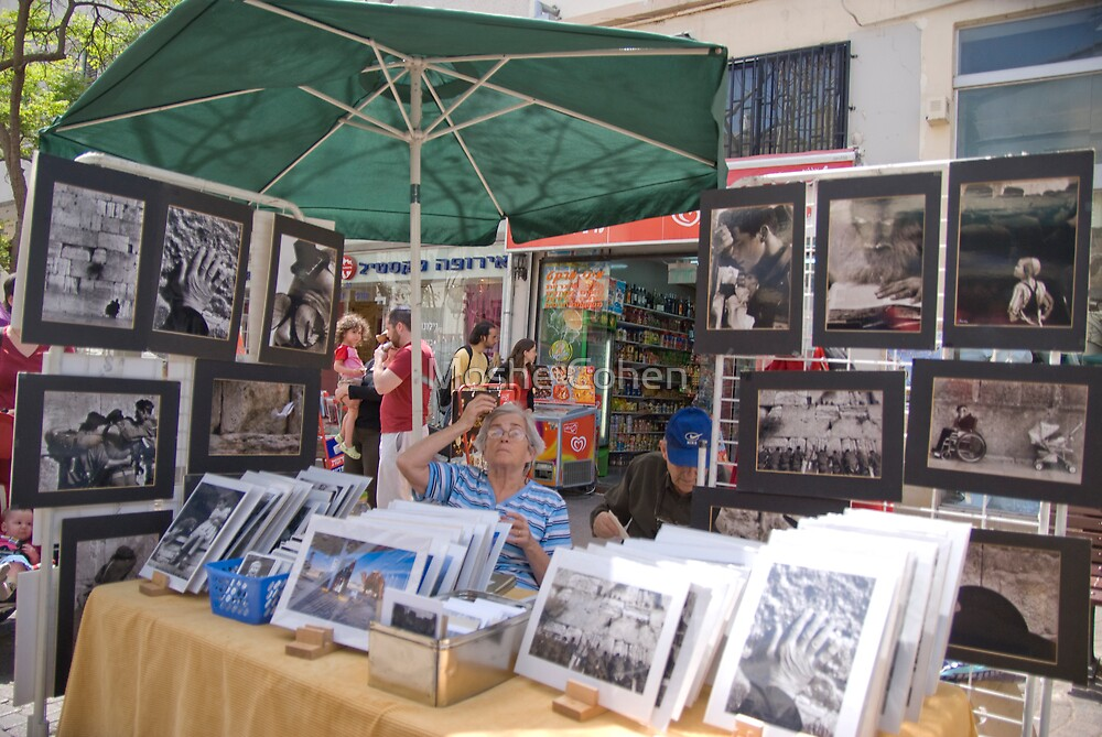 Selling Photos by Moshe Cohen