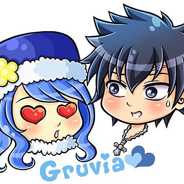 FT - Chibi Gruvia by beaglecakes
