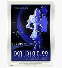 PSO J318.5-22 - NASA/JPL Travel Poster Poster