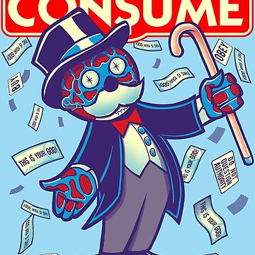 CONSUME (Moneypoly version) by kgullholmen