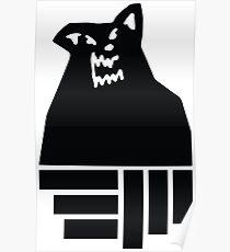 Russ Diemon Wolf Poster