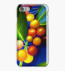 Bright Berries and Leaves iPhone Case/Skin