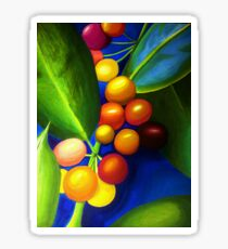 Bright Berries and Leaves Sticker