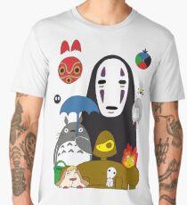 Ghibli mix Men's Premium T-Shirt
