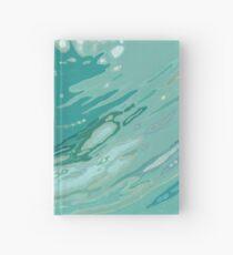 Spinning Blue Ocean Wave Margaret Juul Hardcover Journal
