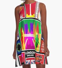 LONDON ENGLAND A-Line Dress
