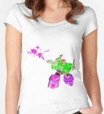 Optimized Prime Women's Fitted Scoop T-Shirt