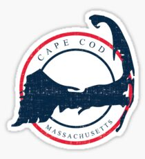 cape cod Sticker
