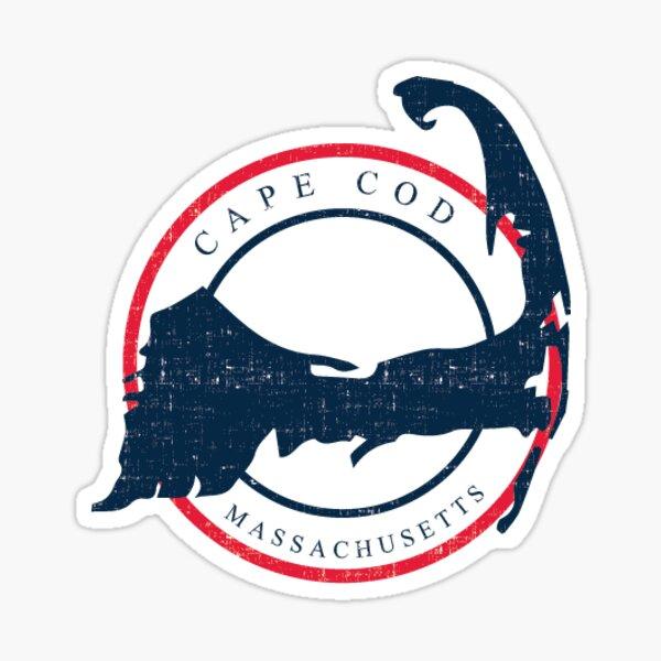 cape cod Sticker