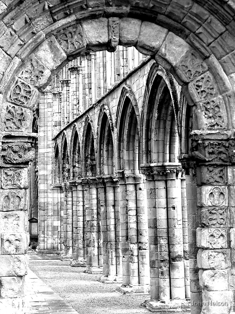 Jedburgh Abbey Arches by John Nelson