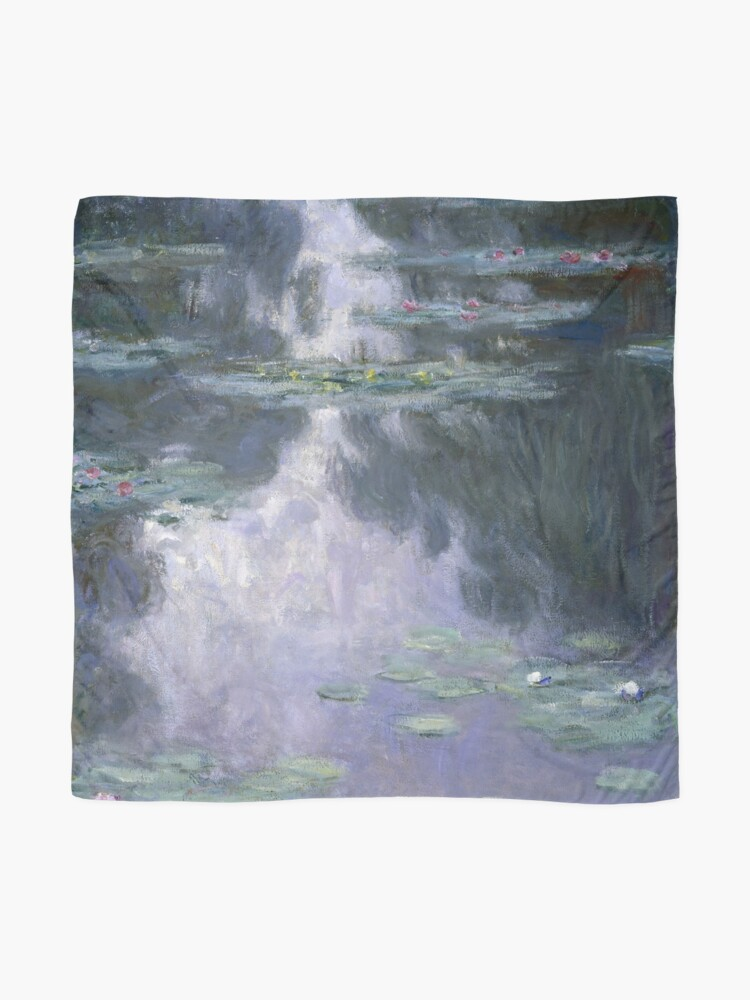 Alternate view of Water Lilies (Nymphéas) by Claude Monet Scarf