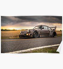 RWB North Carolina Porsche Poster