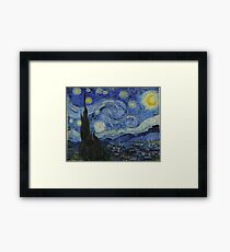 The Starry Night by Vincent van Gogh Framed Print