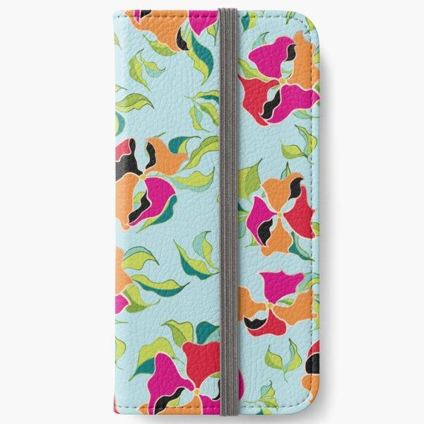 Power Flowers – Summer iPhone Wallet
