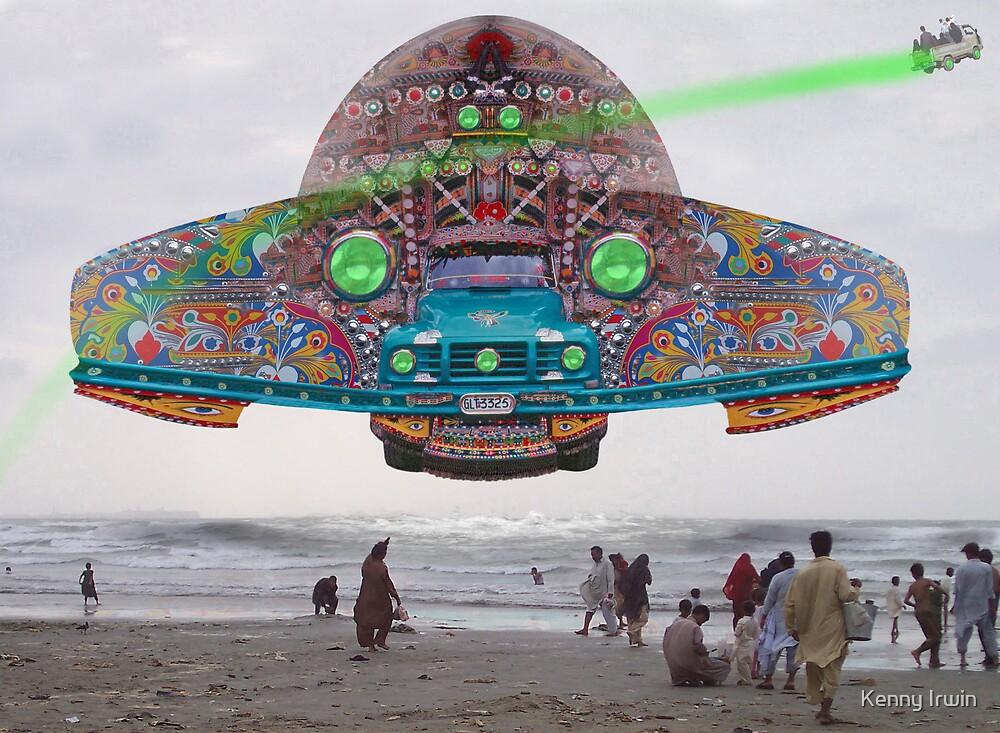 The Pakistani Starfleet's newest flagship, the P.S.F Abdus Salam by Kenny Irwin