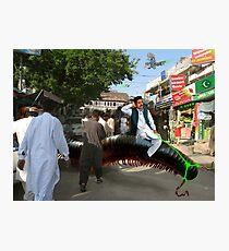 Abdur Rashid The Millipede Man Photographic Print