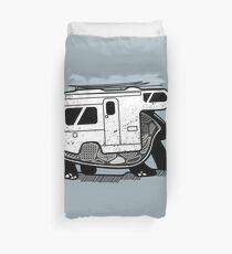 Vanlife turtle adventurer camper art  Duvet Cover