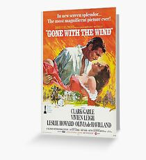 Gone With The Wind - 2 Greeting Card