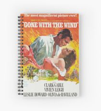 Gone With The Wind - 2 Spiral Notebook