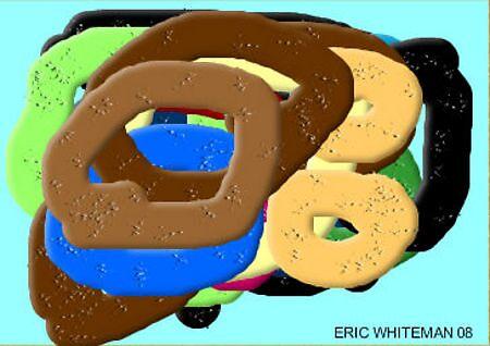 (CIRCLES OF  THE MIND ) ERIC WHITEMAN ART  by eric  whiteman