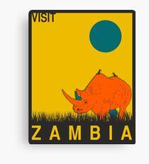 Zambia Canvas Print