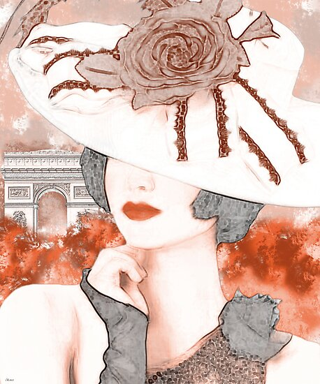 UNE FEMME PENSIVE by J Velasco
