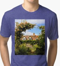 Country Cottage. Tri-blend T-Shirt