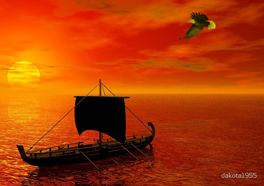 """""""Assyrian Sunset, 605 A.D."""" by dakota1955"""
