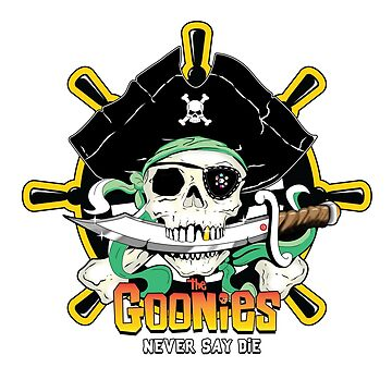 The Goonies - Never Say Die White Variant by Purakushi