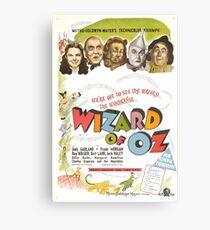 The Wizard of Oz (Alt) Canvas Print