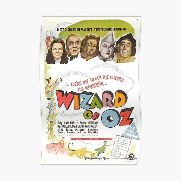 The Wizard of Oz (Alt) Poster